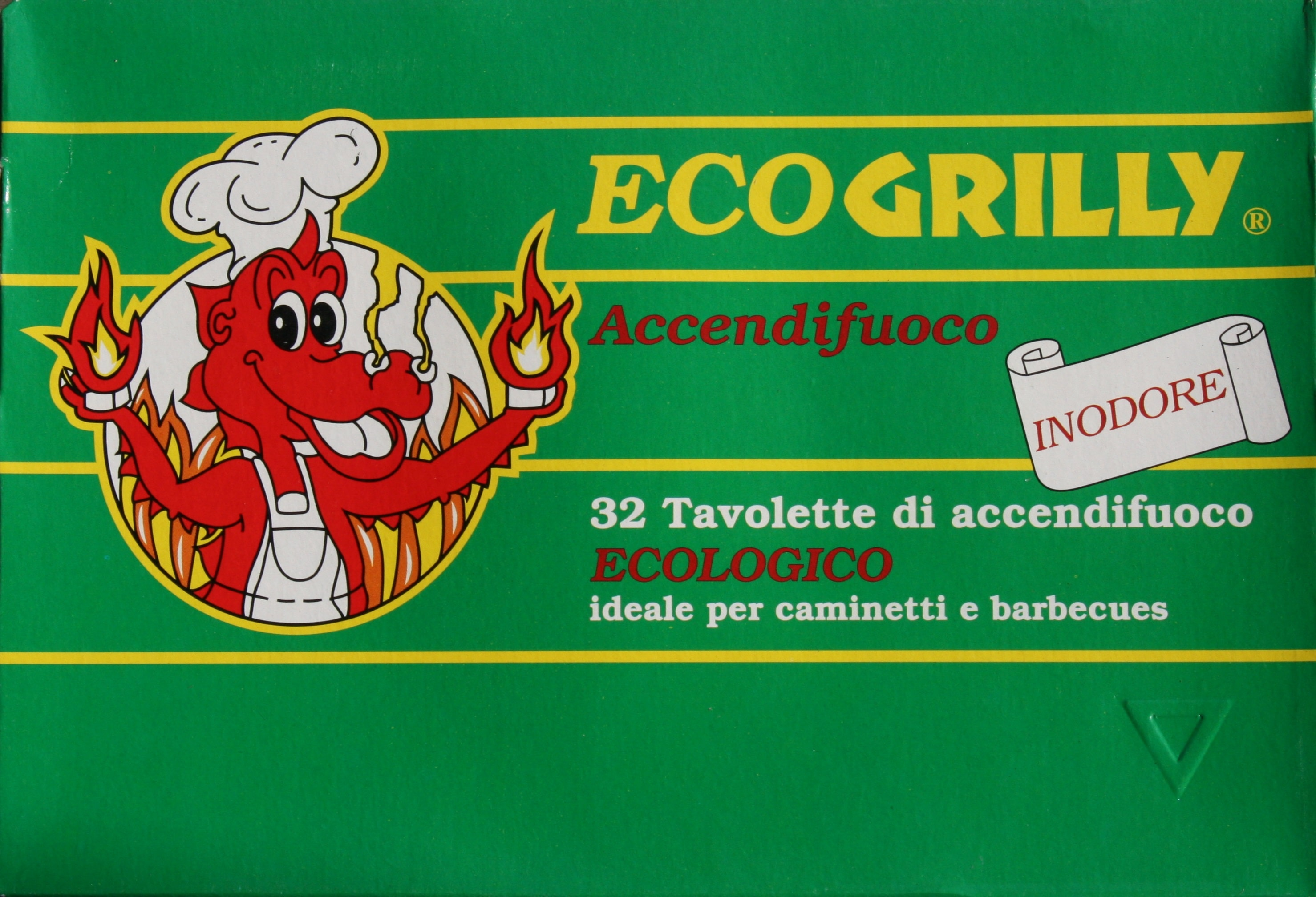 accendifuoco grilly